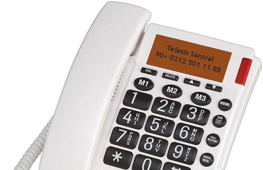 Arayan numara gösterme caller id